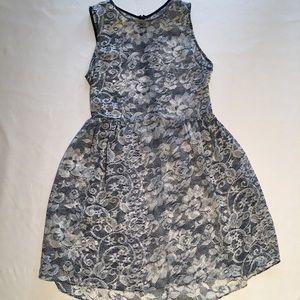 Dresses & Skirts - Sweet Sheer Lace Pattern Dress